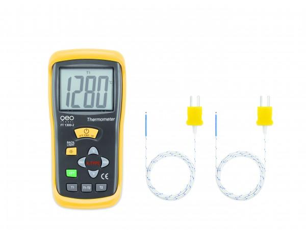 FT 1300-2 2-Kanal Temperaturmessgerät
