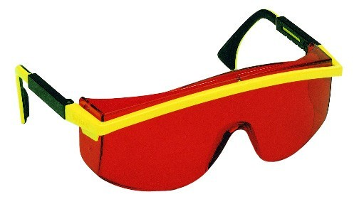 Laserintensivbrille rot
