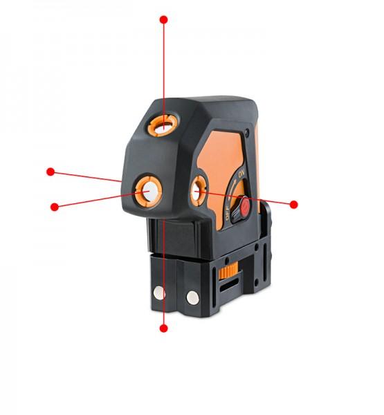 5-Punkt-Laser Geo5P