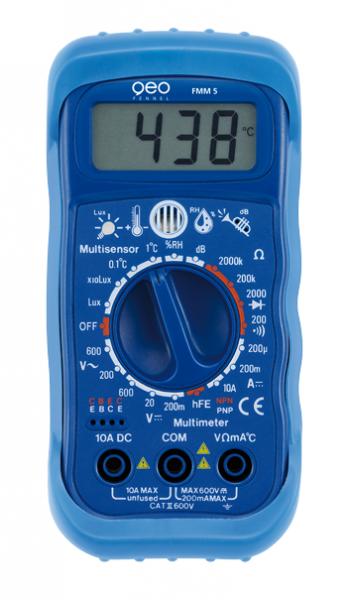 FMM 5 Multisensor-Multimeter 5-in-1