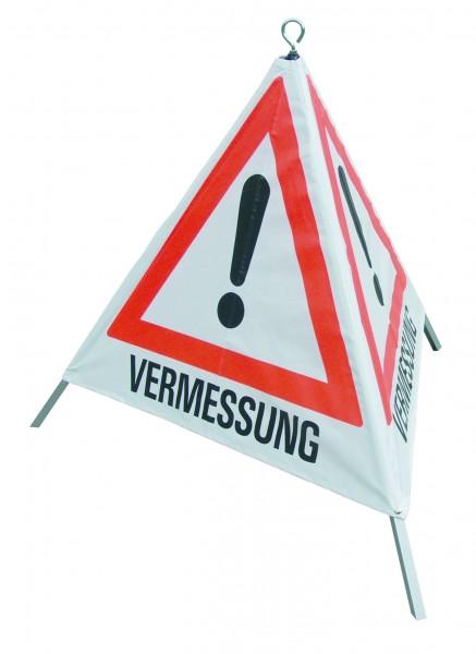 Warnpyramide 90 cm Gefahrz/Verm.