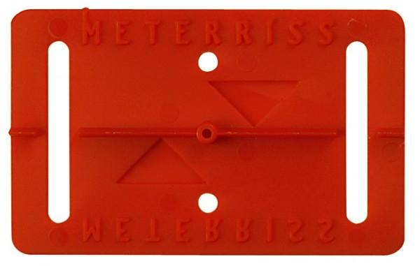 Meterrissmarke MR1 selbstklebend - VE=25 Stück