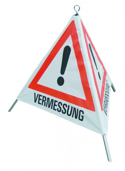 Warnpyramide 70 cm Gefahrz/Verm.