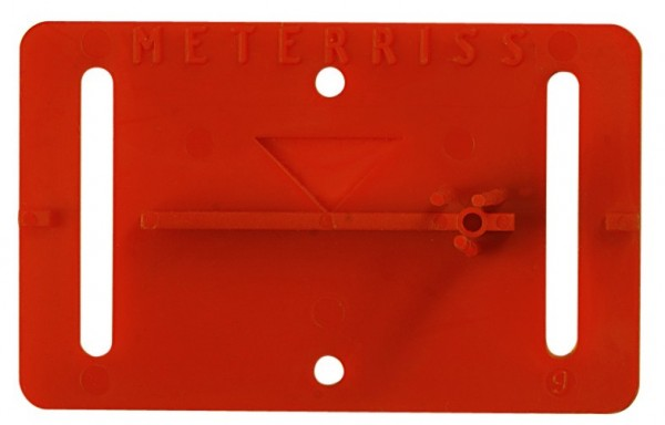 Meterrissmarke MR2 - VE=25 Stück