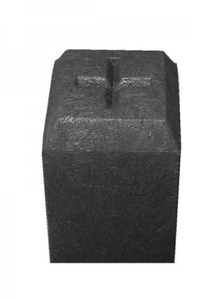 Grenzstein aus Recycling-Kunststoff