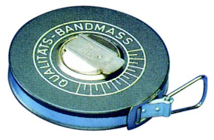 Glasfaser-Bandmaß in Kapsel