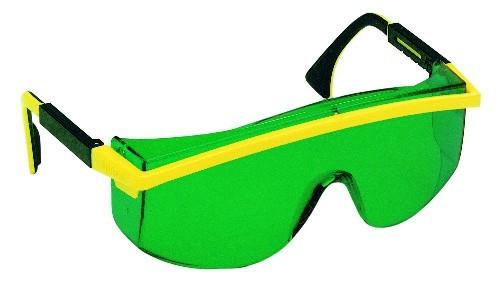 Laserintensivbrille grün