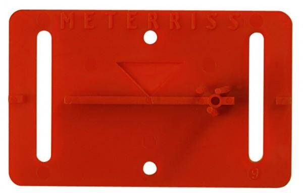 Meterrissmarke MR2 selbstklebend - VE=25 Stück