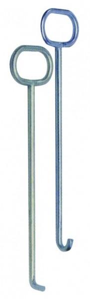 Hebehaken U-Form / Kanaldeckelheber / Schachtdeckelheber